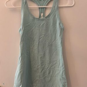 Lulu Lemon Light Blue Tank Top